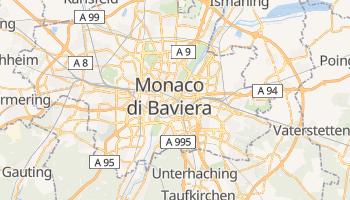 Mappa online di Monaco di Baviera