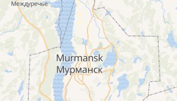 Mappa online di Murmansk