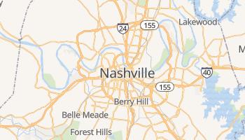 Mappa online di Nashville