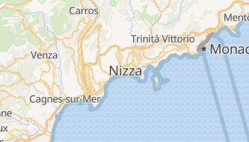 Mappa online di Nizza