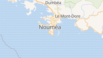 Mappa online di Noumea