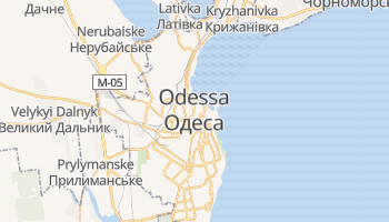 Mappa online di Odessa