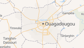 Mappa online di Ouagadougou