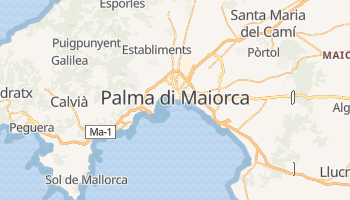 Mappa online di Palma