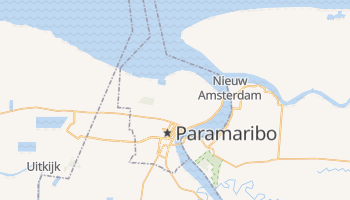 Mappa online di Paramaribo