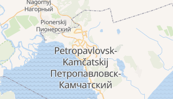 Mappa online di Petropavlovsk-Kamčatskij