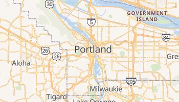 Mappa online di Portland