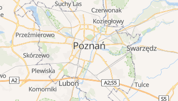 Mappa online di Poznań