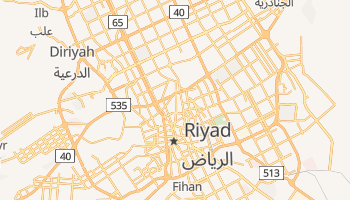 Mappa online di Riyad