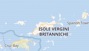 Mappa online di Road Town