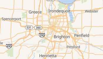 Mappa online di Rochester