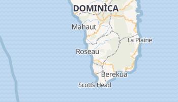 Mappa online di Roseau