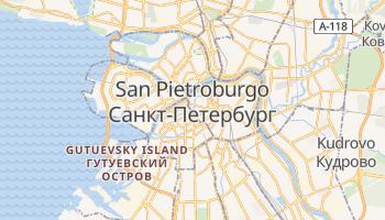 Mappa online di San Pietroburgo