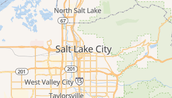 Mappa online di Salt Lake City