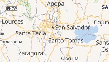 Mappa online di San Salvador