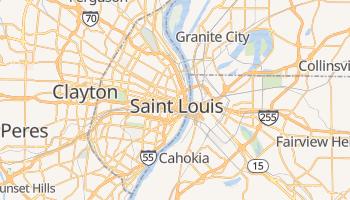 Mappa online di St. Louis
