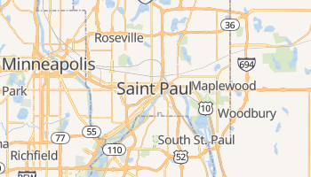 Mappa online di Saint Paul