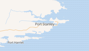 Mappa online di Port Stanley