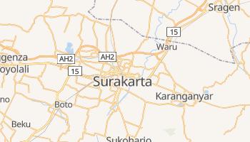 Mappa online di Surakarta