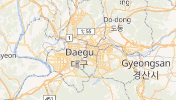 Mappa online di Taegu