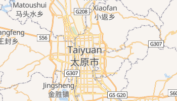 Mappa online di Taiyuan