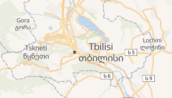 Mappa online di Tbilisi