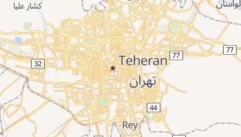 Mappa online di Teheran