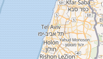 Mappa online di Tel Aviv