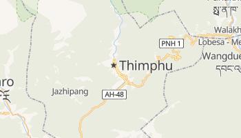 Mappa online di Thimphu
