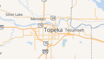 Mappa online di Topeka