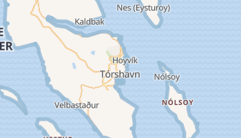 Mappa online di Tórshavn