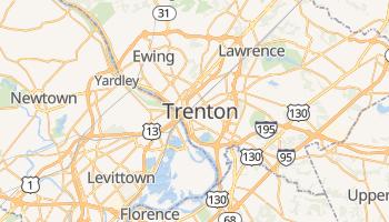 Mappa online di Trenton