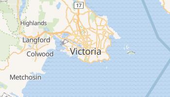 Mappa online di Victoria (Canada)