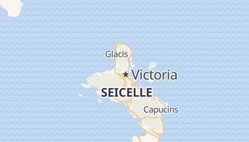 Mappa online di Victoria (Seych.)