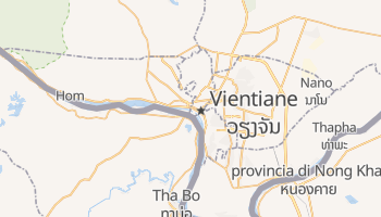 Mappa online di Vientiane