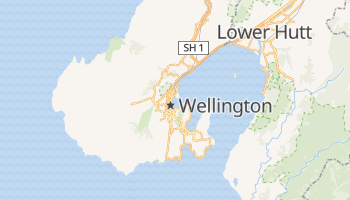 Mappa online di Wellington