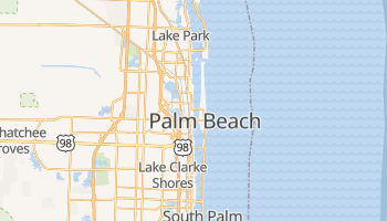 Mappa online di West Palm Beach