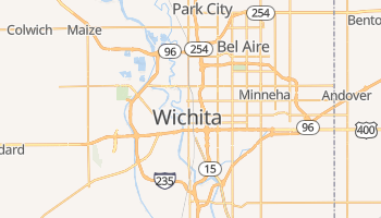 Mappa online di Wichita