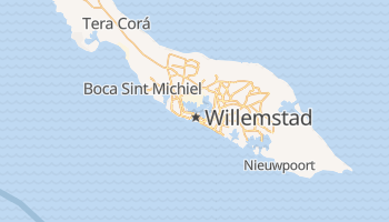 Mappa online di Willemstad