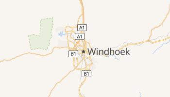 Mappa online di Windhoek