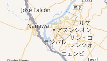 アスンシオン の地図
