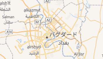 バグダード の地図