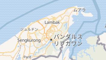 バンダルスリブガワン の地図
