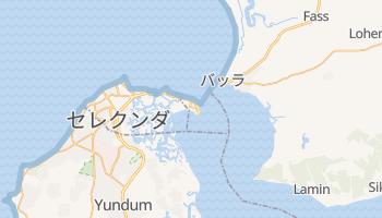 バンジュール の地図