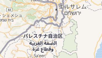 ベツレヘム の地図