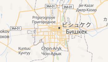 ビシュケク の地図