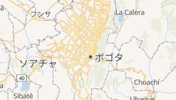 ボゴタ の地図