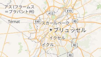ブリュッセル の地図