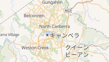 キャンベラ の地図