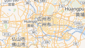 カントン の地図